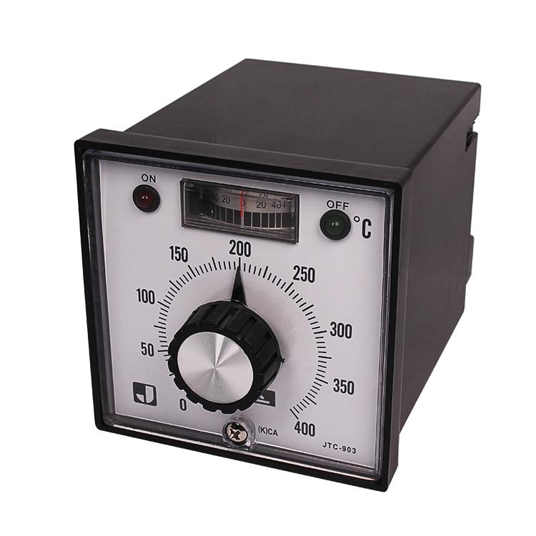 1pcs Temperature Controller Thermocouple Input Singal K 0 - 400 Celsius 50/60 Hz
