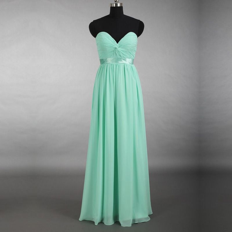 Popular mint green dresses for wedding buy cheap mint for Simple wedding dresses under 100