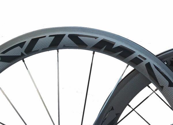good price width 23mm chinese carbon road bike clincher wheelset 50mm custom paint sticker basalt brake