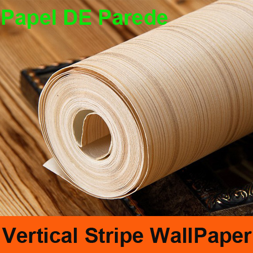 ФОТО MODERN Classic Vertical Striped Wallpaper Roll PVC Plain Wall Paper Living Room TV Wall Background Home Decor Papel De Parede