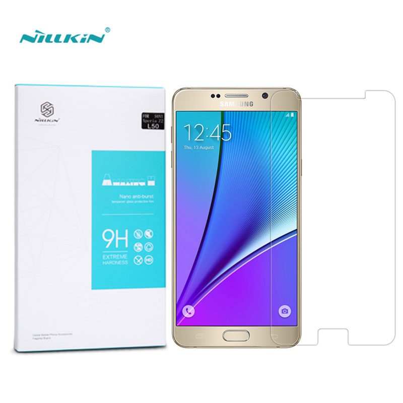 Nillkin Screen Protector For Samsung Galaxy Note 5 Amazing H Anti-Explosion sFor Samsung Note 5 Tempered Glass