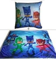 High Quality Flannel Baby Blanket 100 140 Kids PJ Masks Cartoon Super Soft Blankets Aircon Child