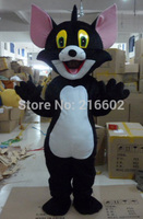 cosplay costumes Wholesale black cats Plush Cartoon Character Costume mascot For Happy Halloween