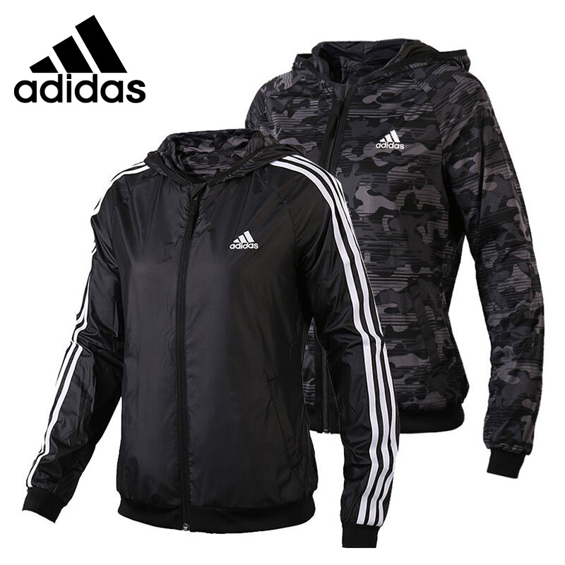 Original New Arrival 2017 Adidas Performance Women's Reversible jacket Hooded Sportswear брюки спортивные adidas performance adidas performance ad094ewuof95