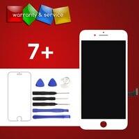 1ピースグレードaaa & lg品質いいえデッドピクセル液晶交換用iphone 7プラスlcdディスプレイ付きタッチ画面デジタイザアセンブ