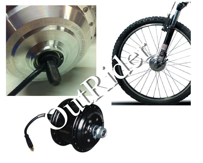 Hot sale OR01A1 24V/36V/250W/160-260RPM Front Wheel Motor V Brake Halless Brushless DC  for electric bicycle CE/EN15194 Approved free shipping hot sale or01a4 front wheel motor 80mm kit ce en15194 approved