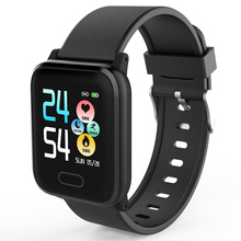 HI16 Smart Watch Wearable Device IP67 Waterproof Bluetooth Pedometer Heart Rate Monitor Color Display SmartWatch For Android/IOS
