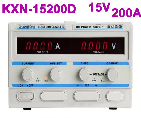 KXN-15200D KXN Series High-power Switching DC Power Supply Single output:0-15V 0-200A new lp2k series contactor lp2k06015 lp2k06015md lp2 k06015md 220v dc