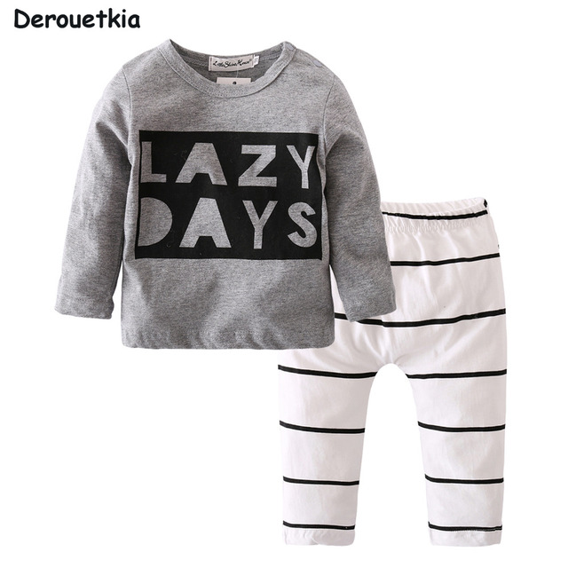 1fd7bef69516 New 2018 autumn baby boy clothes fashion cotton long sleeved letter ...