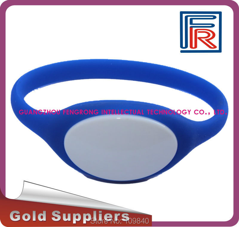 Waterproof Wristband/Bracelet with 13.56MHz 1K chip for swimming pool/access control/fitness rfid 125khz wristband with em chip waterproof abs bracelet for access control swimming pool fitness suana water park 100pcs lot
