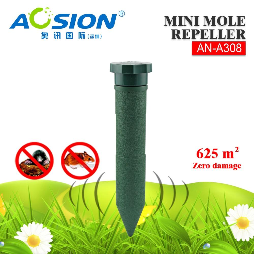 2X Aosion International Mole Chaser Odbijači glodavaca riješiti se - Vrtni proizvodi - Foto 6