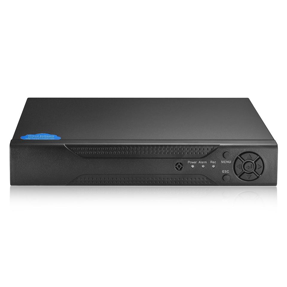 BESDER AHDM DVR 4Channel 8Channel AHDNH 1080N CCTV AHD DVR Hybrid DVR 1080P NVR 4 in
