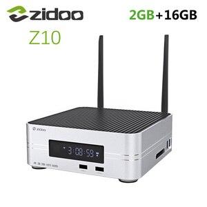 "Image 1 - Zidoo Z10 Android 7.1 TV Box 1000M LAN 4K HDR Smart Set Top Box Realtek RTD1296 2GB di RAM 16GB di ROM Supporto 3.5 ""HDD Media Player"