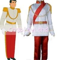 Cinderella S Prince Charming Cosplay Costume Royal Ball Adult Men Custom Made Halloween Costume