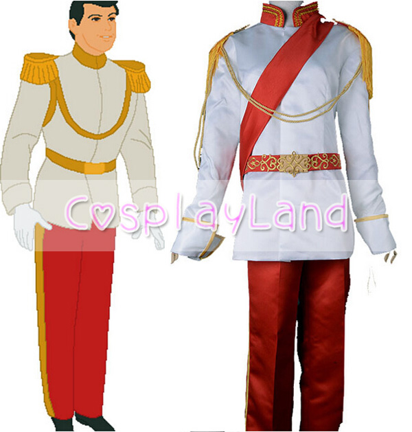 Cinderellau0027s Prince Charming Cosplay Costume Royal Ball Adult Men Suit Outfit Custom Made Halloween Cinderella Prince Costumes-in Movie u0026 TV costumes from ...  sc 1 st  AliExpress.com & Cinderellau0027s Prince Charming Cosplay Costume Royal Ball Adult Men ...