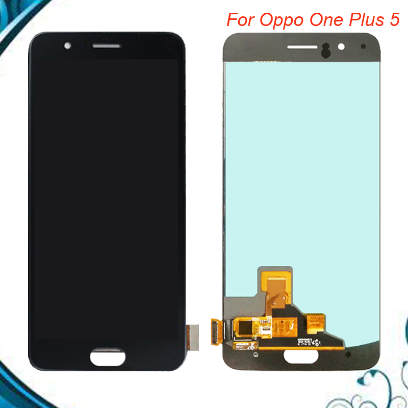 100% Tested OK 5.5 Oppo Oneplus 5 LCD Display Screen Touch Panel Assembly For One plus 5 A5000 Five LCD Black White Color100% Tested OK 5.5 Oppo Oneplus 5 LCD Display Screen Touch Panel Assembly For One plus 5 A5000 Five LCD Black White Color
