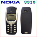 Envío gratis original nokia 3310 barato teléfono desbloqueado gsm 900/1800 con ruso y árabe teclado multi-lenguaje 1 año de garantía