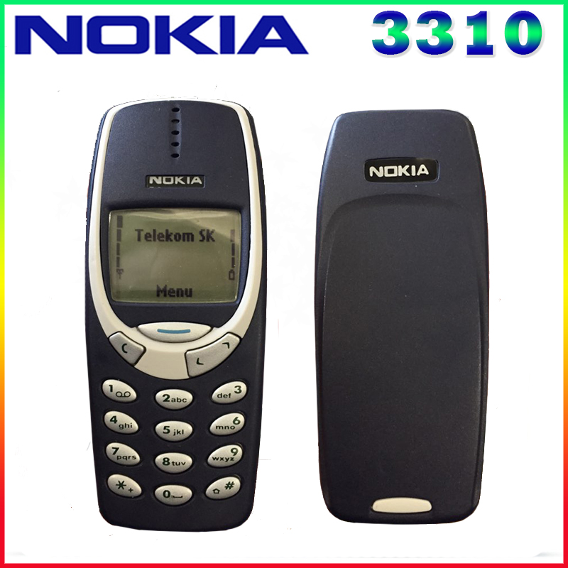 Free shipping Original Nokia 3310 cheap phone unlocked GSM 900 1800 with russian Arabic keyboard multi