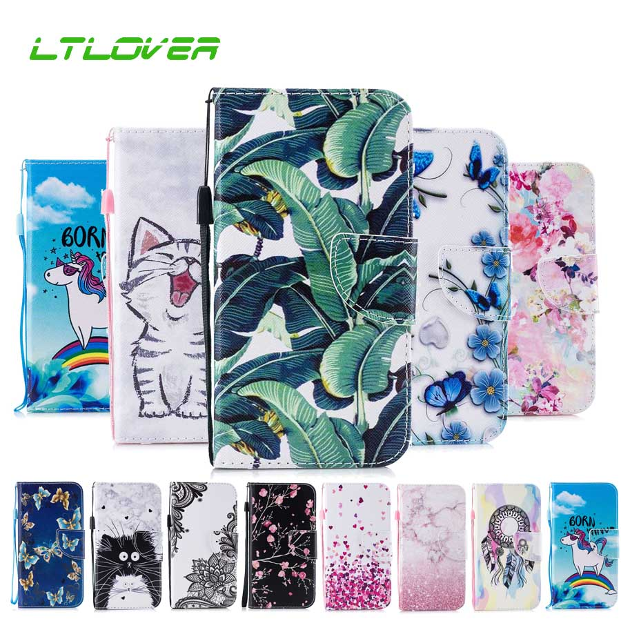 Cover For iPhone XR Butterfly Panda Cartoon PU Stand