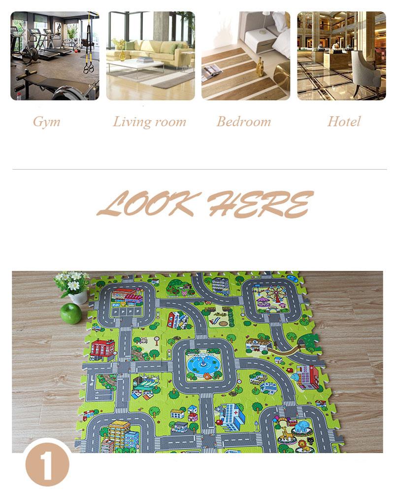 HTB1Mv4hasnrK1RjSspkq6yuvXXaX 9Pcs 30*30cm EVA Plush Puzzle Mats DIY Foam Baby Play Mat Split Joint Baby Carpets For Carpets Mat Indoor
