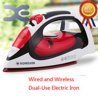 High Quality Steam Iron Hanging Handheld Electric Iron Wire And Wireless Dual Purpose Electric Iron