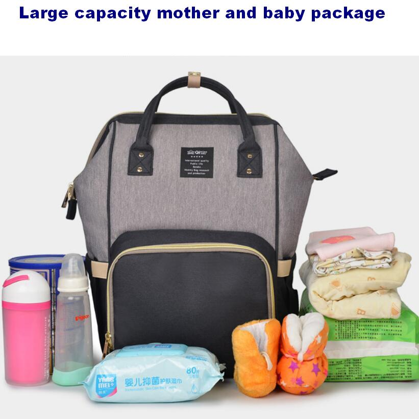 Baby multi function large capacity Mummy package maternal expectation package maternal and child supplies out of the backpack