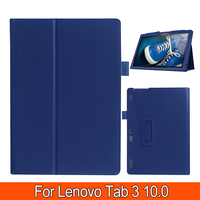 Litchi Pattern PU Leather Stand Cover Case For Lenovo Tab 2 A10 70 A10 70F A10