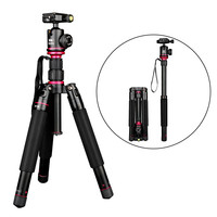 Tycipy Professional Portable Travel Aluminum Camera Tripod Accessories Stand DSLR Special Digital Camera Tripod Monopod stick