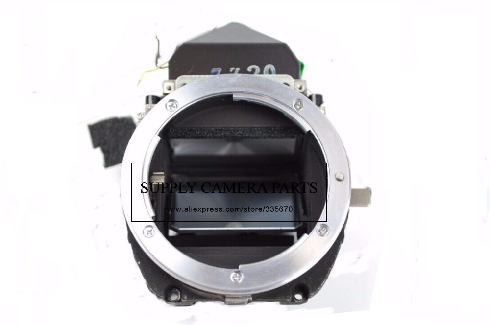 free shipping!95%New Camera small main box For Nikon FM10 Film Mirror Box With Focusing Screen Replacement Part original small main body mirror box replacement part for nikon d7200 camera repair parts