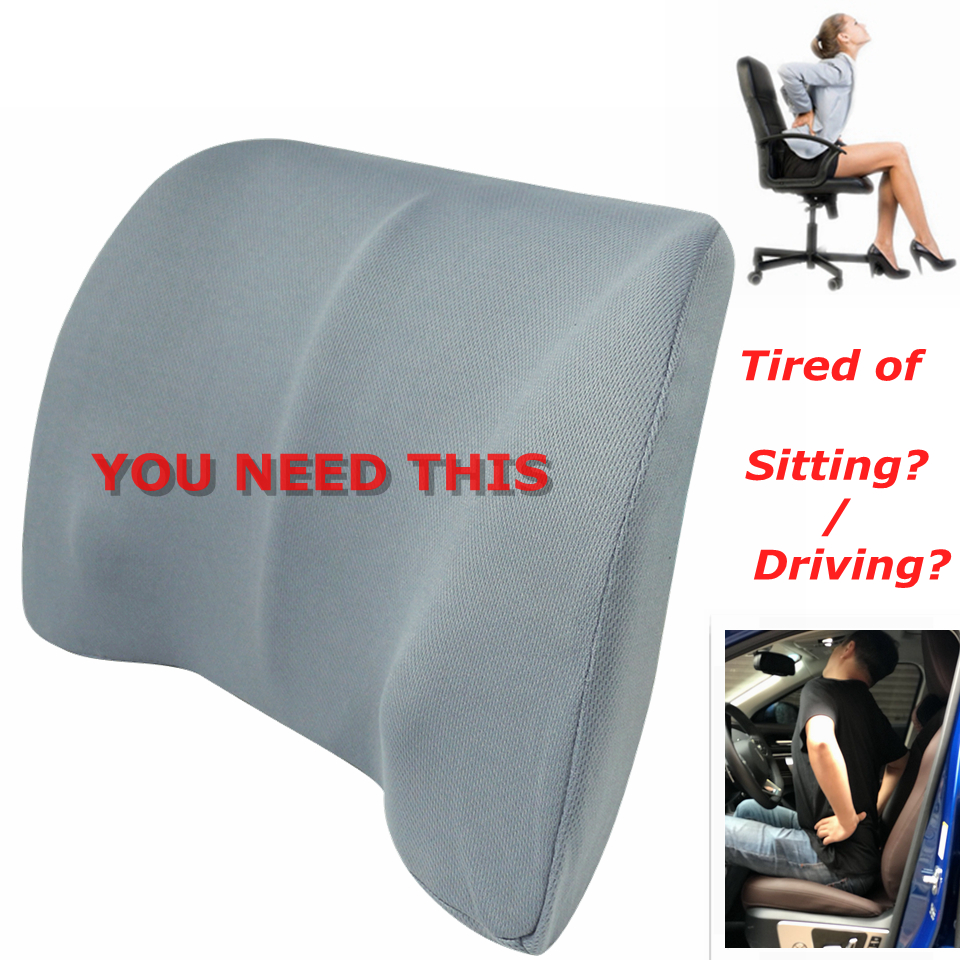 Car Extended Seat Cushion with Comfort Leg Support Pillow//Leg Rest Cushion for Long-Distance Driving,Pink