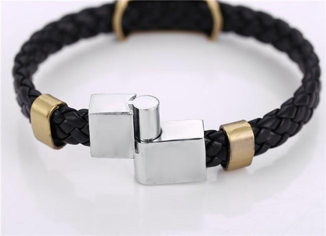 Naruto Leather Braid Bracelet 4