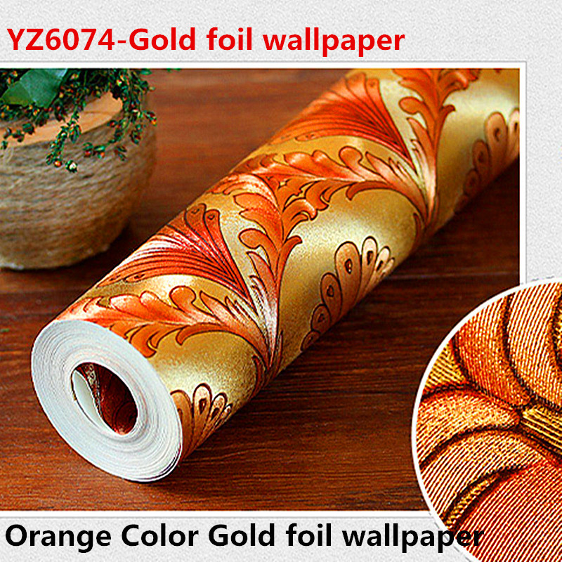 New style Peacock Wallpaper Gold Foil Peacock Feather 3D Effect Wall paper Home Decoration kitpac101058pacp6409 value kit pacon peacock sulphite construction paper pacp6409 and pacon array colored bond paper pac101058