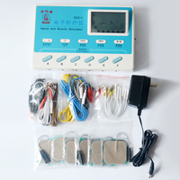 New 4 Channels Electrical Stimulator Body Relax Massager Pulse Electronic Massage Equipment TENS For Physical Therapy