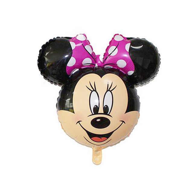 1 шт. милые воздушные шары в форме Микки, Минни Мини Микки Минни голова фольги баллоны для дня рождения, свадьбы декор надувные шары воздуха