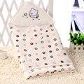 Новорожденный Ребенок Пеленальный Wrap Конверты Для Новорожденных Мягкое Одеяло Пеленание Ребенка Sleepsack Спальный Мешок 80X80 см