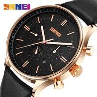 Watches Men Luxury Top Brand SKMEI New Fashion Men Big Dial Designer Quartz Watch Male Wristwatch