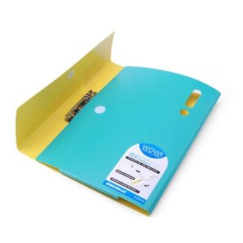 deli 10pcs file folder organ bag a4 organizer box paper holder document folder multi function storage finishing office supplies Document PVC Bag A4 Organizer Box Clip File Folder Expanding Document Holder Office Paper Organizer Office Supplies