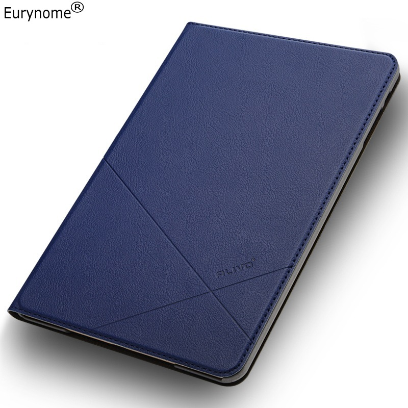 High quality Fashion Simple business PU leather stand holder case cover for Ipad mini 1 2 mini 3 with screen film protector
