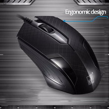 Gaming Mouse Ajustable 1600DPI Optical Macro Programming USB Game Mouse Gamer  цена и фото