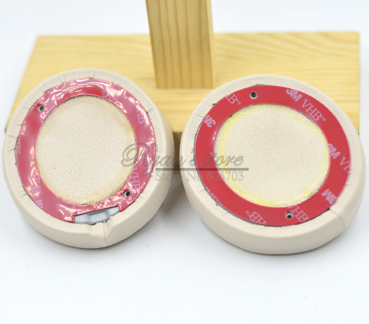 New Gold Ear pads cushion covers for solo 3 solo3.0 wireless headphones