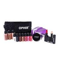 OPHIR Профессиональный Аэрограф Косметическая система для макияжа набор с 5 Регулируемым высокоскоростной компрессор и 30 мл основа 10 мл Румян