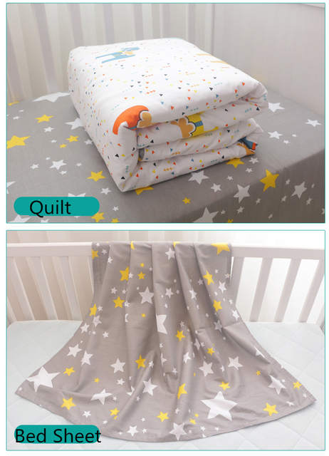 US $157 95 35% OFF|Cozy Baby Crib Bedding Complete Set Fairy Tales Style  Cotton Baby Cot Linens Kit Include Crown Bumpers Bed Sheet Quilt Pillow -in