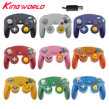 Wired Game Controller Gamepad Joystick With One Button for Nintendo for GameCube NGC