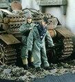 1:35 Alemán Tanques de Vestirse para el Frío