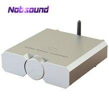 Nobsound haut de gamme Bluetooth 5.0 amplificateur de puissance HiFi stéréo casque Amp avec carte son USB 100W * 2
