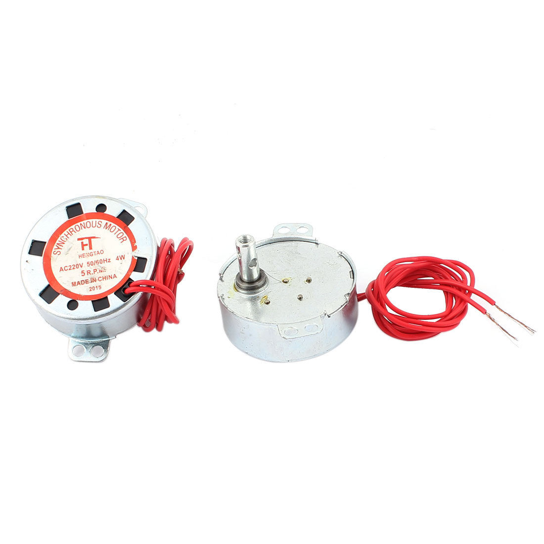 60hz 5rpm 2 Wires Microwave Oven Synchronous Motor Brass Tone