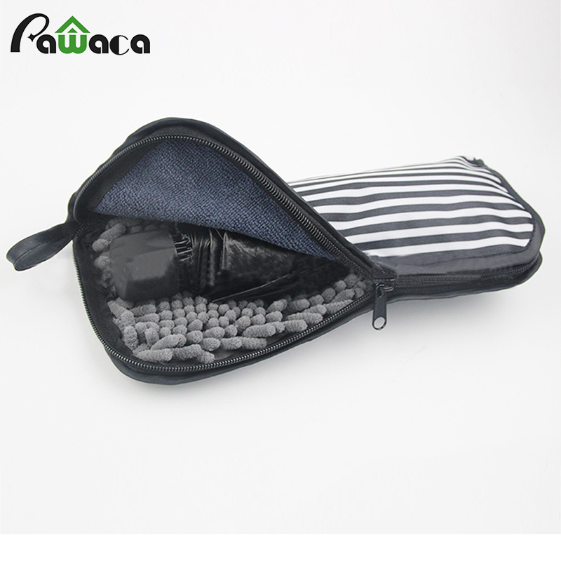 Portable Superfine fibers storage bags Covers for Automatic Umbrella Cleaning Cloth Waterproof Case travel Accessories S size