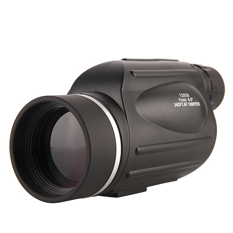 13X50 Single Tube Hd Telescope Waterproof Big Eyepiece Rangefinder Binoculars With Sub-Line Measuring Phone Camera(China)