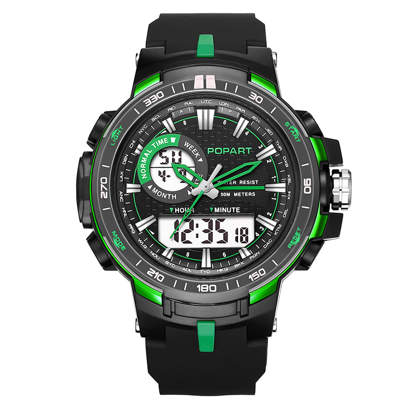 POPART Outdoor Sport Watches For Men Clock Waterproof Electronic LED Digital Quartz Watch Wristwatches Relojes Relogio Masculino 2017 new top fashion time limited relogio masculino mans watches sale sport watch blacl waterproof case quartz man wristwatches