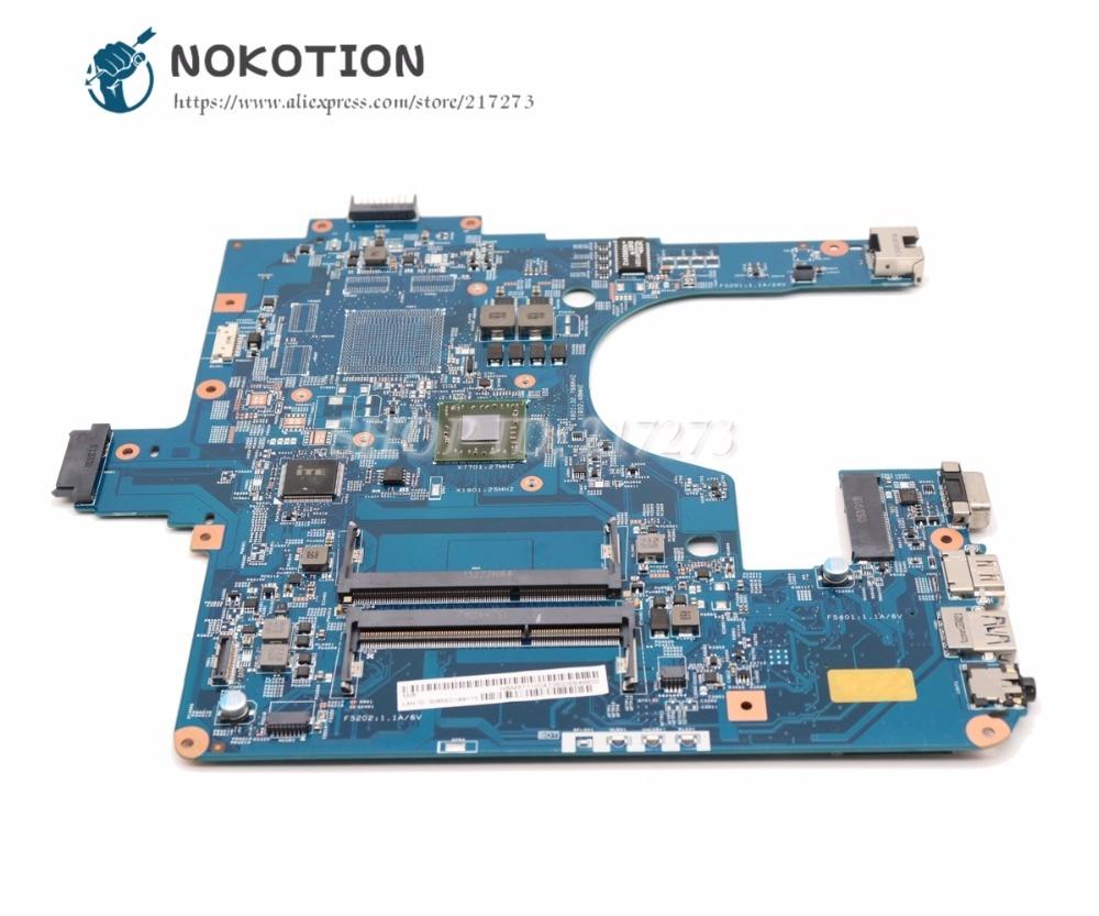 NOKOTION Para Acer aspire E1 522 NE522 Laptop Motherboard DDR3 NBM811100N EG50 KB MB 12253 3 M 48.4ZK14.03M PLACA PRINCIPAL|Placas-mães| |  -